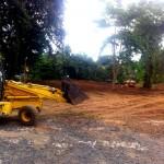 Maquinas en Quebrada Ausubo