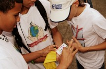 Fotos Gira Monitoreo de Aguas, Escuela Trina Padilla de Zans