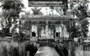 Estanques del Antiguo Acueducto en la Loma de los Vientos (ahora Venezuela)